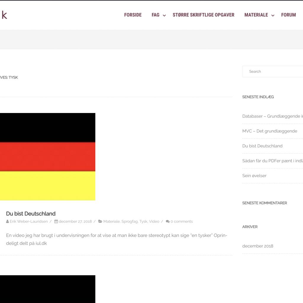 opgvr.dk - Demo socialt netværk for undervisere