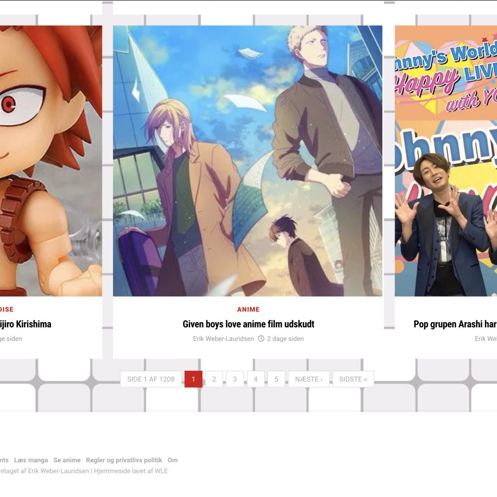 AnimeGuiden – nyhedsside om moderne japansk kultur 2020